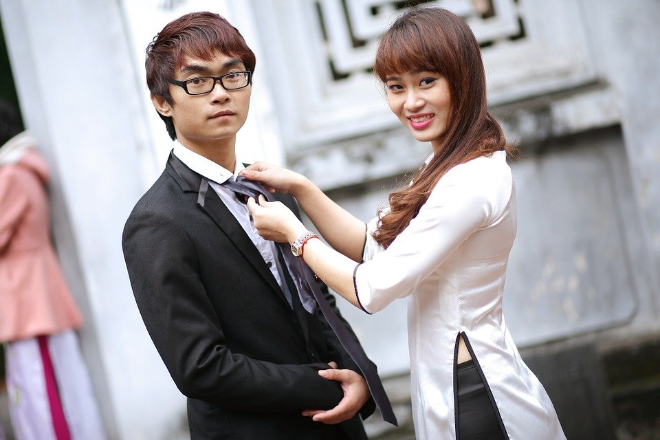 Student wedding